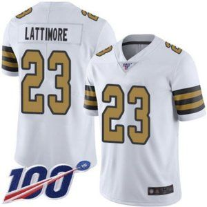 New Orleans Saints Marshon Lattimore 100th Jersey